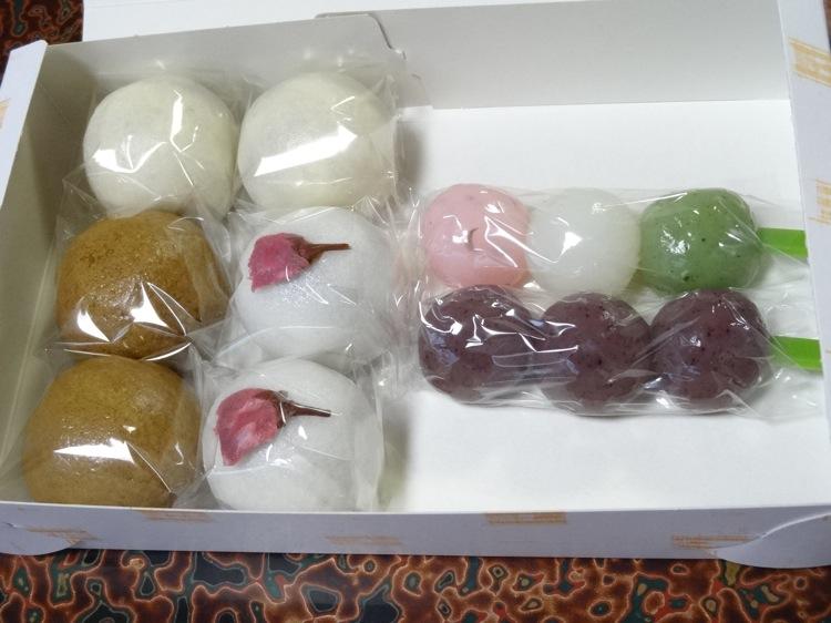 吉川屋の和菓子 美味しかったです