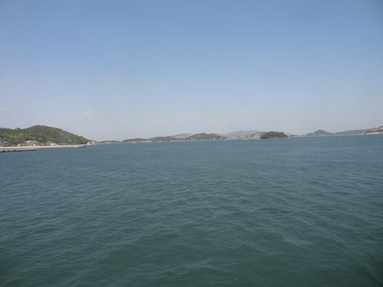 直島フェリーから見る景色