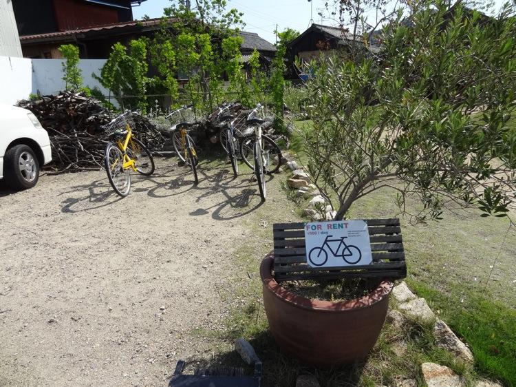 カフェ&レストラン ガーデンのレンタサイクル