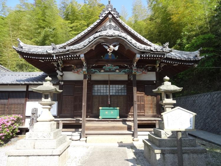 直島の極楽寺本堂
