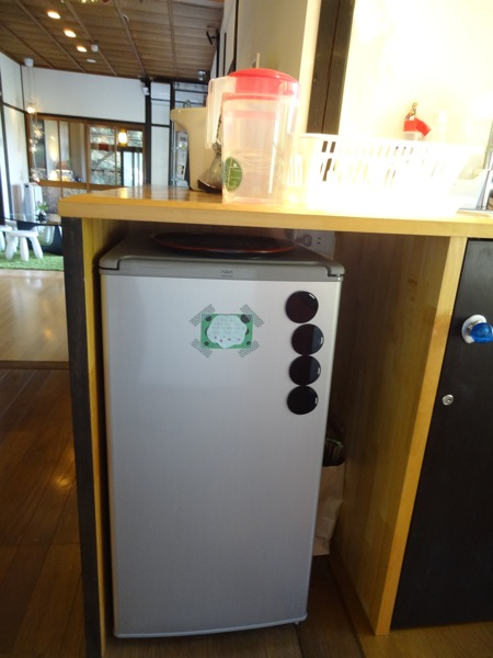 バンブーヴィレッジ 冷蔵庫