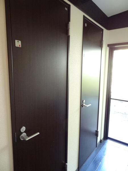 バンブーヴィレッジのシャワー室は2室あります