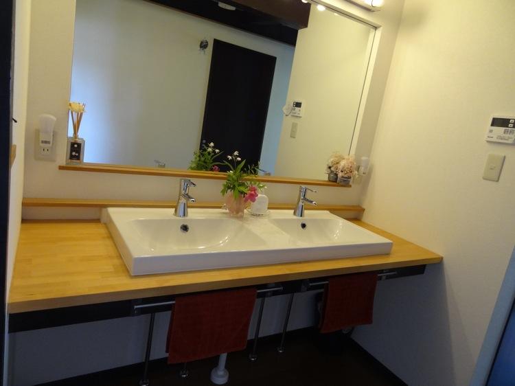バンブーヴィレッジ 洗面台