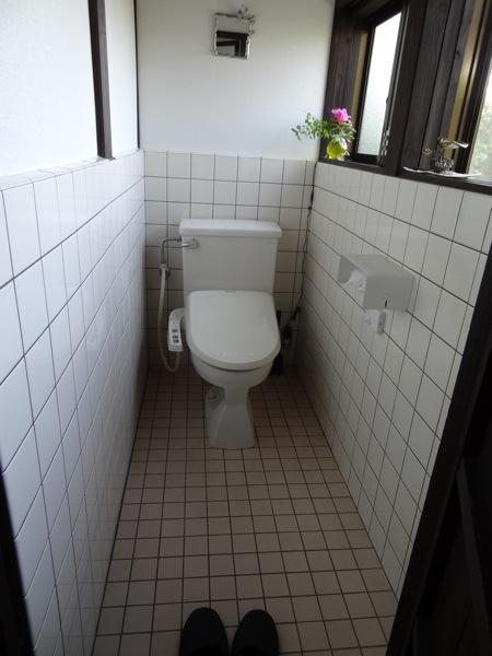 バンブーヴィレッジ 男女共用トイレ