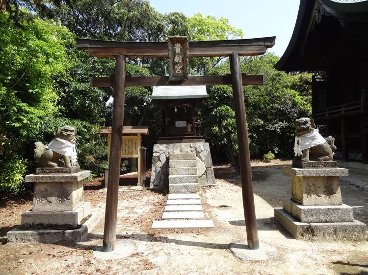 直島の八幡神社 貴船宮