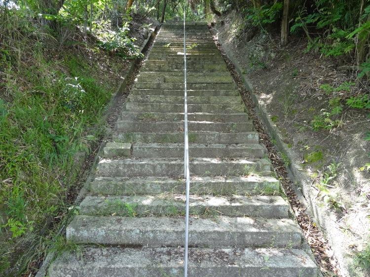 貴船神社への階段