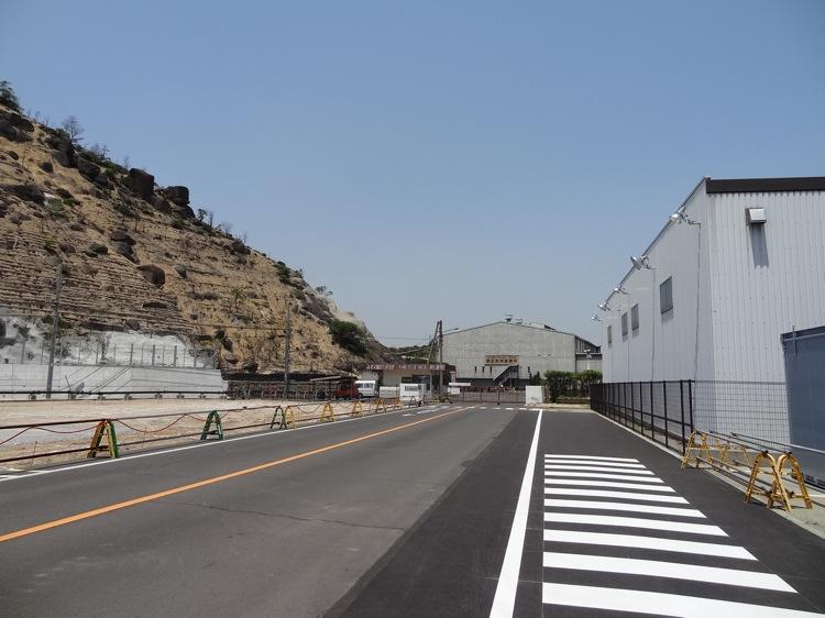 直島の工場地帯