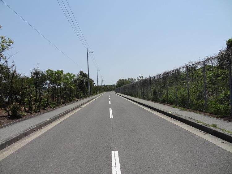 直島の道路