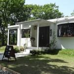 直島ダム近くのカフェ&ゲストハウス「いっぷく茶屋」でひと休み
