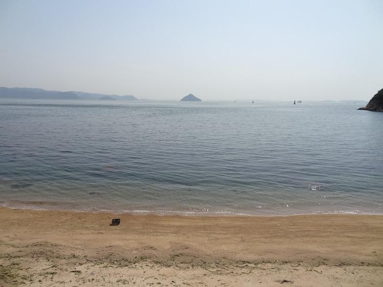 直島の海辺