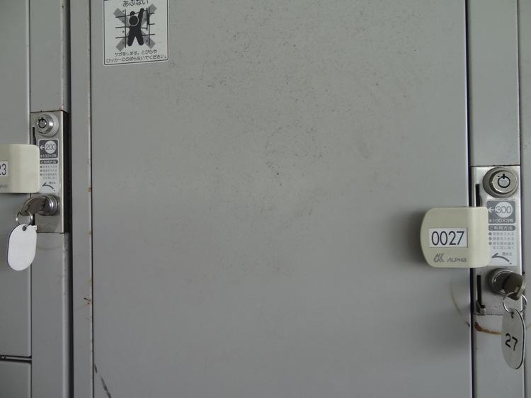 直島 宮浦港のコインロッカー300円