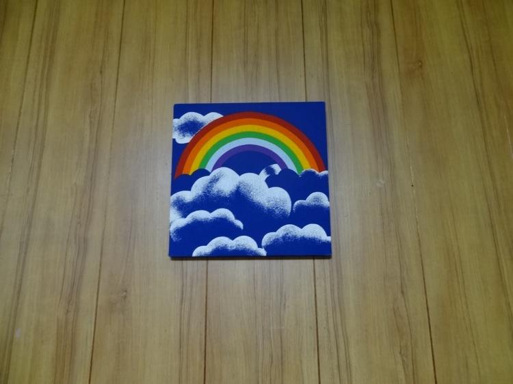 ちょっとこま 男性ドミトリー 虹の絵