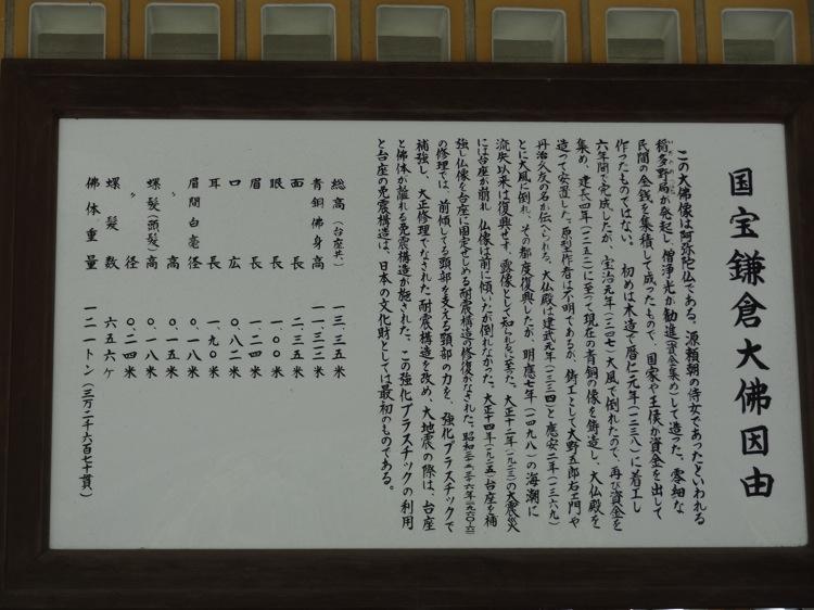 鎌倉大仏について