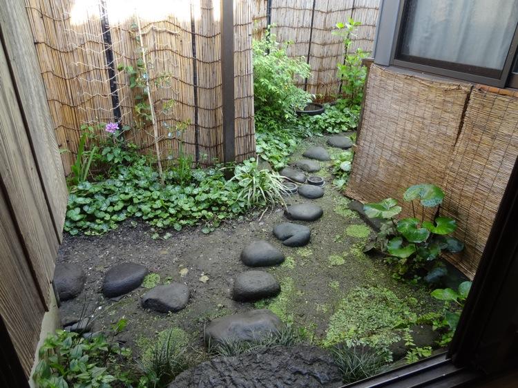 亀時間の庭