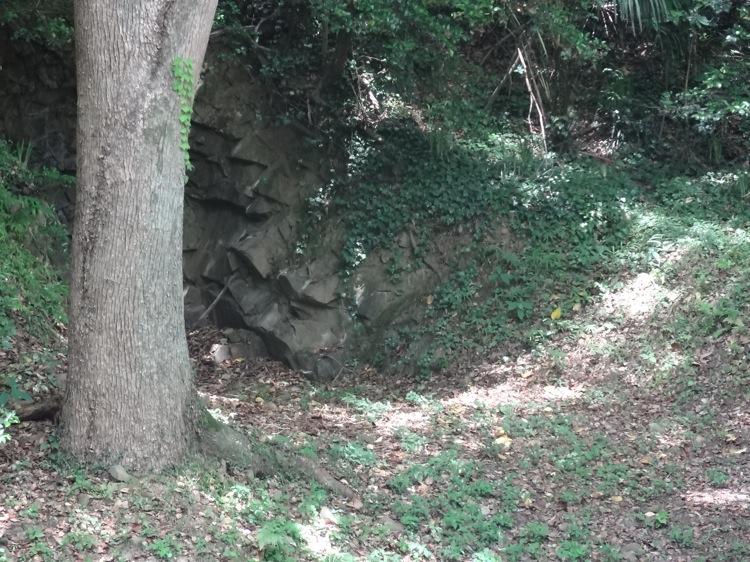 栗林公園 爛柯石屋の様子