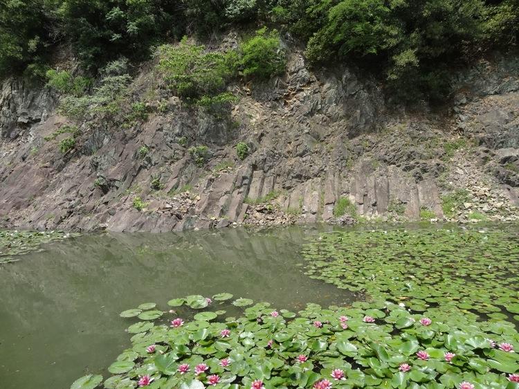 栗林公園の石壁