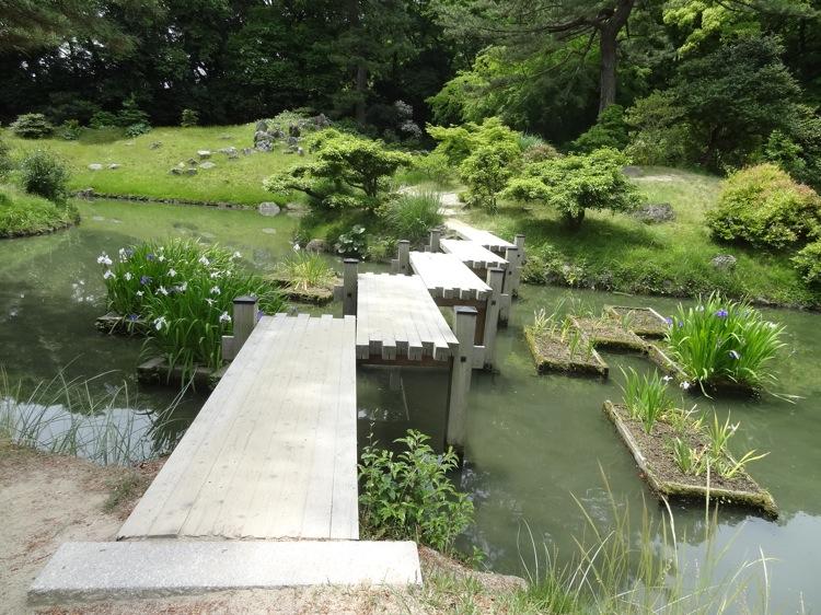 栗林公園の小さな橋