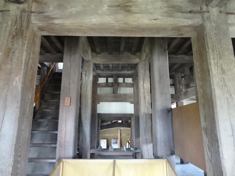 高松城の中の様子
