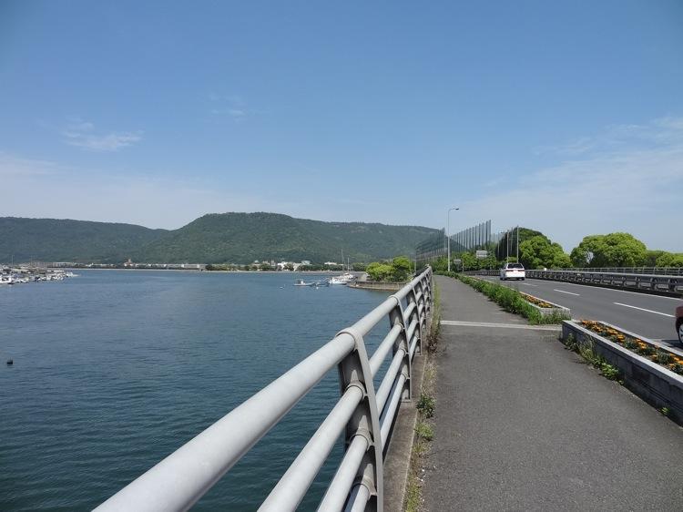 瀬戸大橋通りの景色