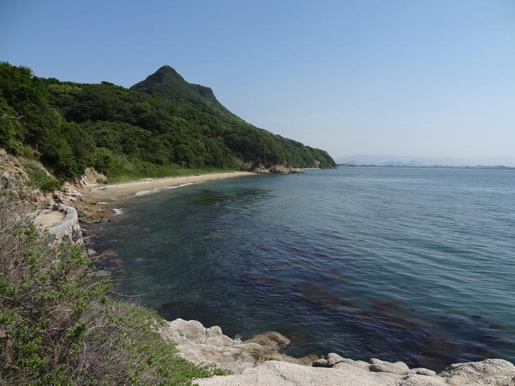 長崎の鼻から見る景色