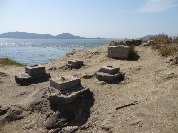 長崎の鼻の砲台跡