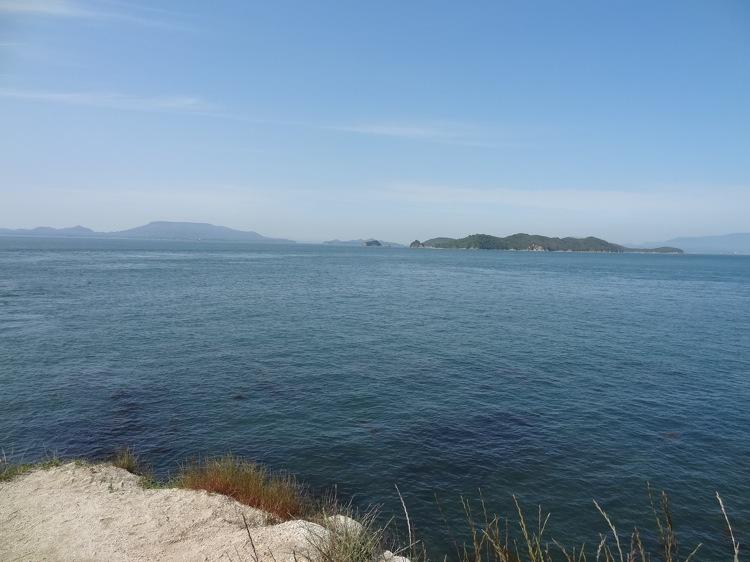 長崎の鼻から見るキレイな海
