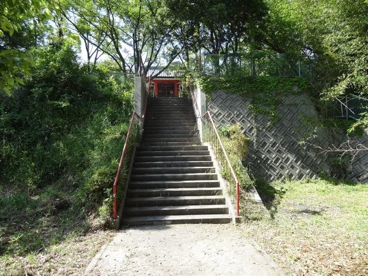 木里神社の階段