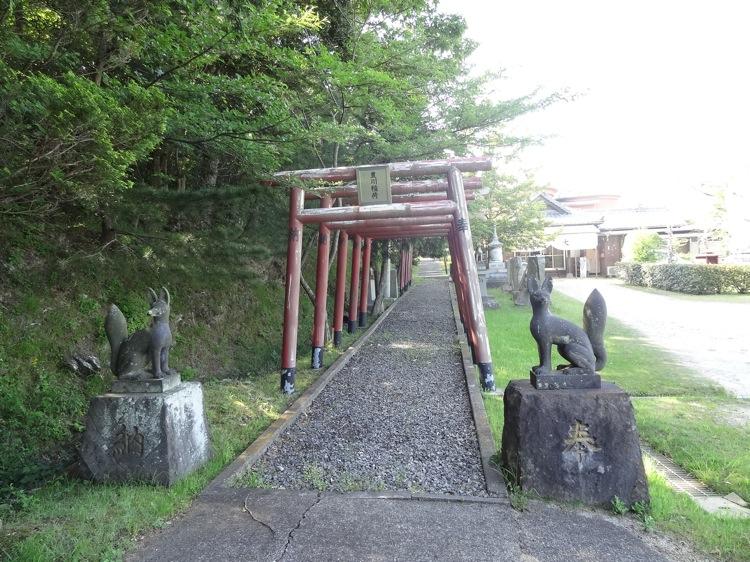 迎光院釈友寺の鳥居
