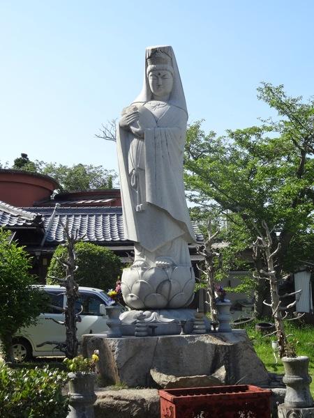 迎光院釈友寺の石碑