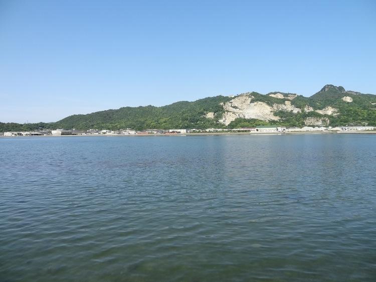 屋島から見る海の景色