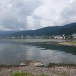 諏訪湖の眺めが素晴らしい!心が豊かになりそうな景色に感動