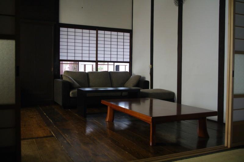 萩・暁屋の共有ルーム
