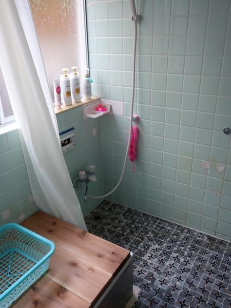 箱根ねんねこやのシャワー室