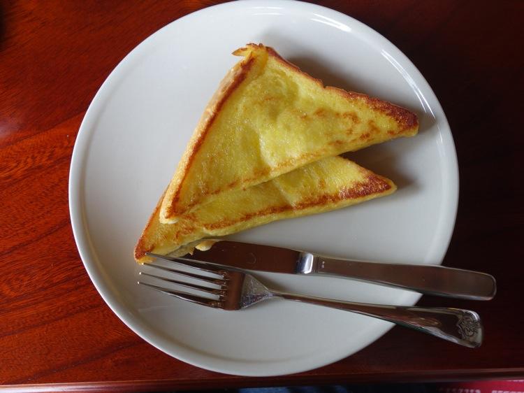 箱根ねんねこやの朝食 フレンチトースト