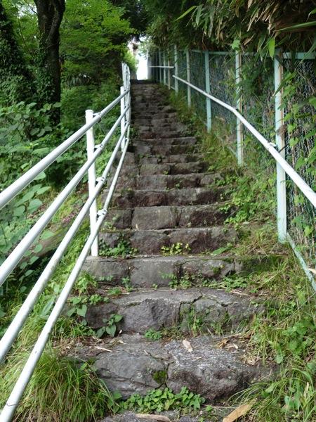 強羅近道の階段