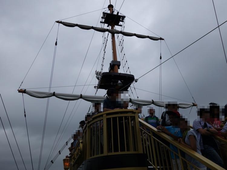箱根海賊船の帆
