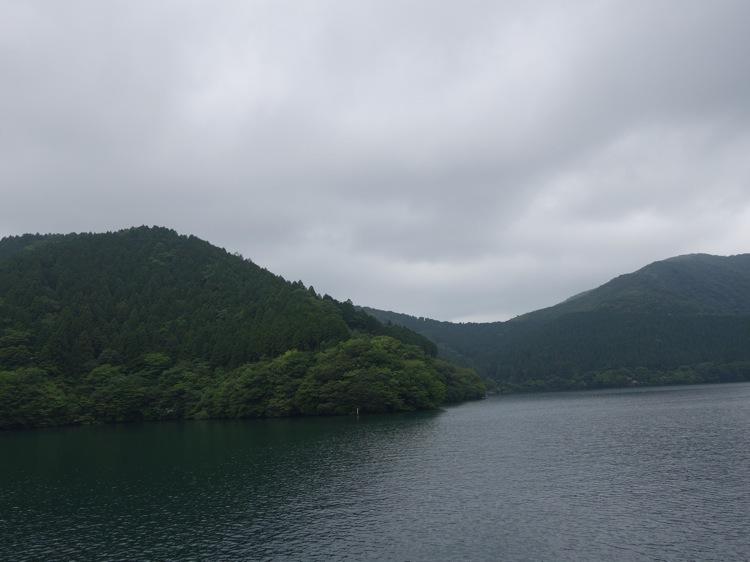 箱根海賊船から見た景色