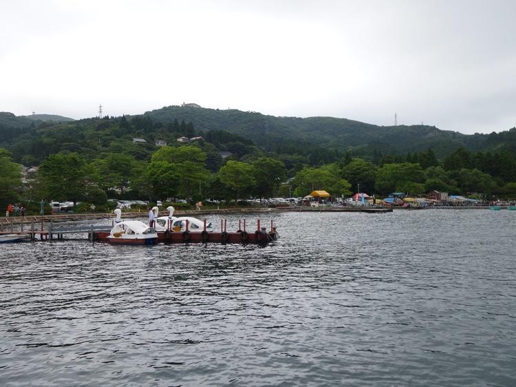 箱根町港の風景