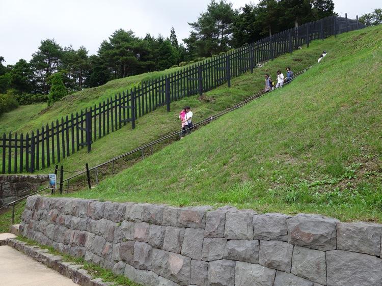 箱根関所の階段