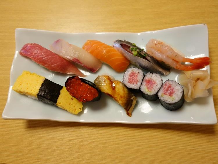 寿司清のお寿司