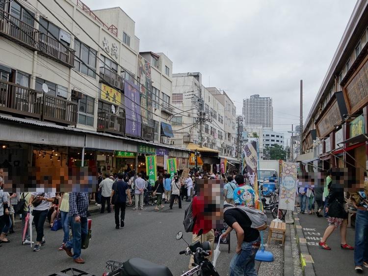 築地市場の様子