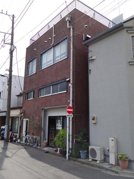 東京ヒュッテ 外観