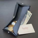 財布をCartolare(カルトラーレ)のハンモックウォレットにして、小銭の取り出しやすさに感動!iPhone 6 Plusもスタンド代わりに!【PR】
