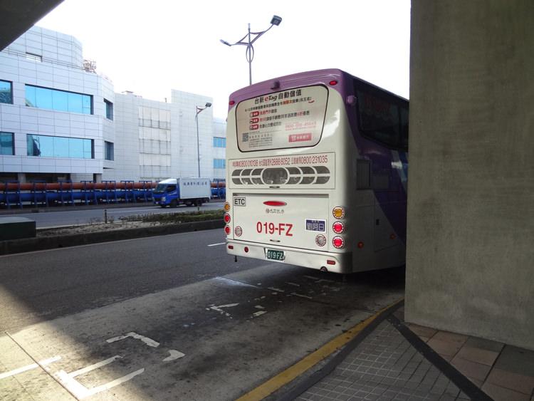 台湾桃園空港のバス