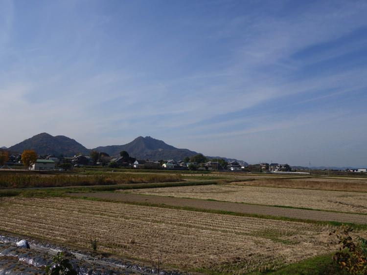 法華口駅周辺の景色