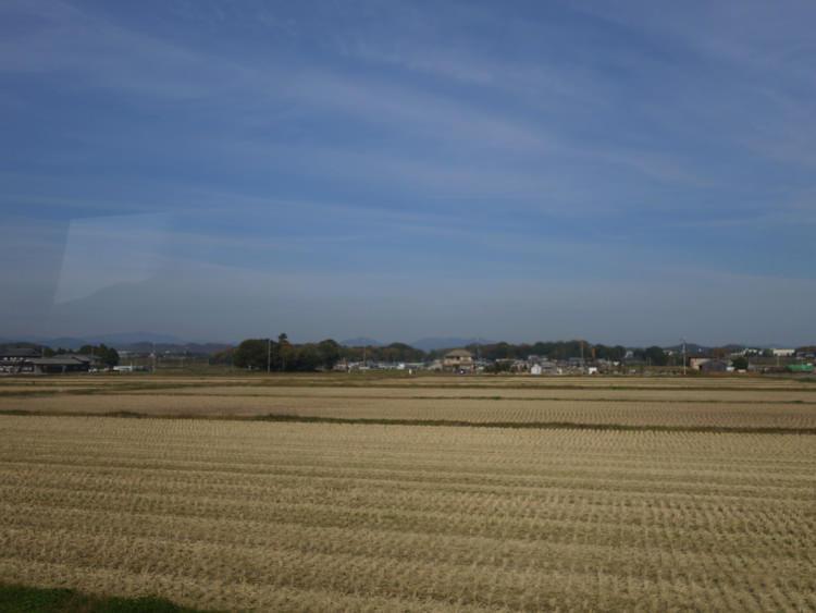 北条鉄道から見る景色