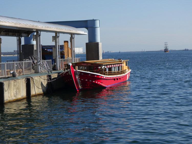 ハーバーランド 屋形船