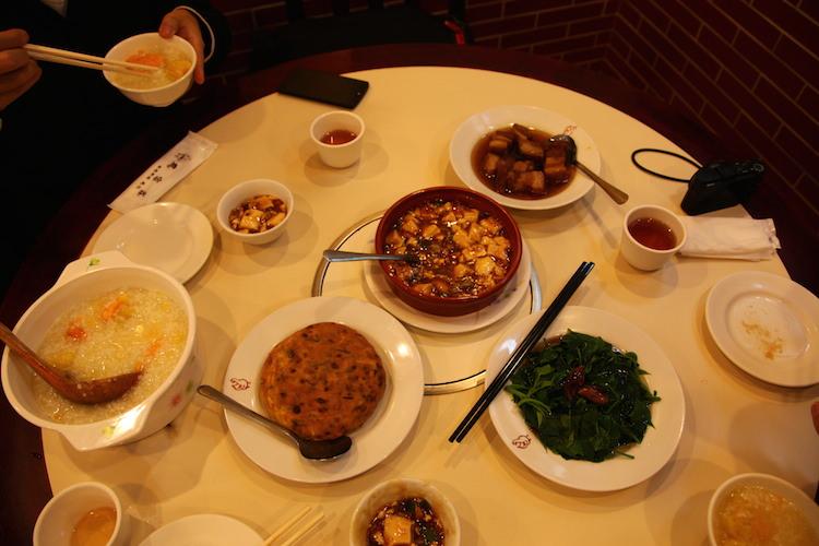 台湾で食べた家庭料理
