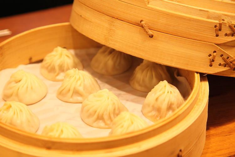 台湾で食べた小籠包 鼎泰豊