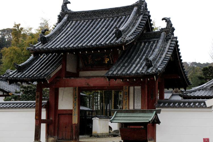 萬福寺 門